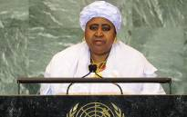 Gambia's Vice President Isatou Njie Saidy. Picture: AFP