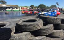 Motoring enthusiasts at the Killarney race track in the Western Cape. Picture: Kevin Brandt/EWN.