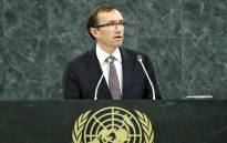 UN Secretary General's special adviser on Cyprus Espen Barth Eide. Picture: United Nations Photo.