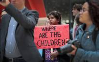 FILE: Demonstrators protest on 5 June 2018 in Chicago against the Trump administration policy that enables federal agents to separate undocumented migrant children from their parents. Picture: AFP.