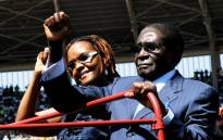 FILE: Zimbabwean President Robert Mugabe and wife Grace. Picture: AFP.