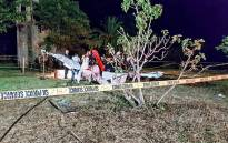 A pilot was killed in a light aircraft crash in Pretoria on Friday, 6 October 2017. Picture: @Netcare911_sa