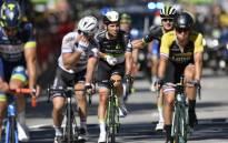 FILE: Team Dimension Data rider Mark Cavendish (2nd left). Picture: AFP