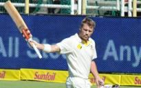 FILE: Australian batsman David Warner. Picture: AFP