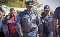 Acting National Police Commissioner Kgomotso Pahlane in Vuwani earlier this week. Picture: Thomas Holder/EWN