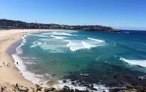 Australia's famous Bondi Beach. Picture: Sharon Moreton/Facebook.