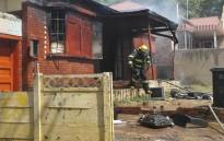 A house was torched in Haig Street in Rosettenville. Katleho Sekhotho/EWN.