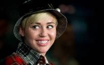 FILE: US Pop singer Miley Cyrus. Picture: AFP