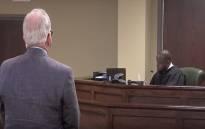 A screengrab of South Carolina state senator appearing before court. Picture: CNN.