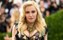 US pop singer Madonna. Picture: AFP