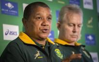 FILE: Springbok coach Allister Coetzee at a press conference. Picture: Aletta Harrison/EWN.