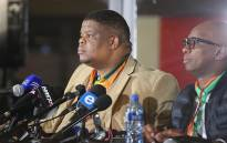 Minister of State Security David Mahlobo. Picture: Christa Eybers/EWN