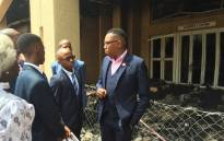 FILE: Deputy Minister of Higher Education Mduduzi Manana (right). Picture: Vumani Mkhize/EWN