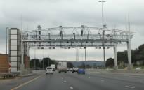 FILE: An e-toll gantry on the N1 in Johannesburg. Picture: Christa van der Walt/EWN.