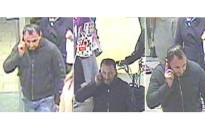 The British Transport Police have released images of a man they wish to speak to in connection with the theft from Euston station of a suitcase filled with gems valued at more than £1 million. Picture: British Transport Police