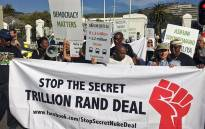 FILE: Several protesters took to the streets in Cape Town in protest against government's nuclear build programme on 22 February 2017. Picture: Xolani Koyana/EWN.