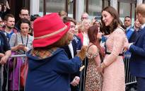 Duchess of Cambridge Kate Middleton with Paddington Bear on 16 October 2017. Picture: The Royal Family/facebook.com