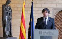 FILE: Ousted Catalan leader Carles Puigdemont. Picture: @catalangov/Twitter.