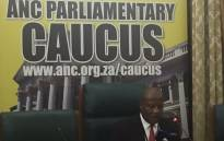 ANC chief whip Jackson Mthembu. Picture: Lindsay Dentlinger/EWN