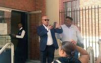 Tony Yengeni at the Cape Town Magistrates Court on 11 December 2015. Picture: Xolani Koyana/EWN.