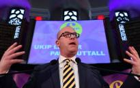 Newly-elected leader of the UK Independence Party Paul Nuttall. Picture: AFP