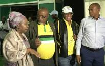 Members of the ANC NEC on a walkabout of the Nasrec ahead of the start of the party's national conference on 14 December, 2017. Picture: @MYANC/Twitter