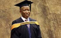 EFF leader Julius Malema graduated BA Honours degree in Philosophy with Unisa in Pretoria. Picture: Sthembiso Zulu/EWN