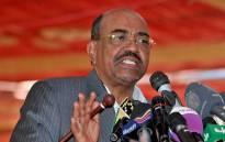 FILE: Omar Hassan al-Bashir. AFP