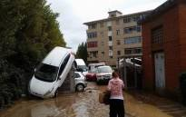 The Tuscan city of Livorno has been hit by heavy rain. Picture: Livorno Mayor Filippo Nogarin/@nogarin.