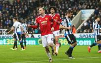 Manchester United's Wayne Rooney celebrates his goal in the Premier League clash against Newcastle United on 12 January 2016. Picture: Manchester United Facebook page.