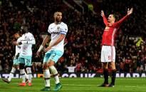 FILE: Manchester United's Zlatan Ibrahimovic (right) celebrates a goal. Picture: Facebook.