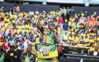 Gauteng ANC chairperson Paul Mashatile passionately addresses thousands of supporters as the party launched its Gauteng Manifesto at the FNB stadium on 4 June 2016. Picture: Reinart Toerien/EWN.