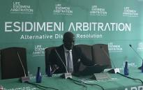 Retired Deputy Chief Justice Dikgang Moseneke is heading the arbitration hearings between the State and the families of victims in the Life Esidimeni tragedy. Picture: Masego Rahlaga/EWN