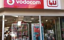 A Vodacom store in Johannesburg. Picture: EWN