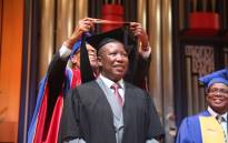 EFF leader Julius Malema obtains his BA Degree in Political Leadership and Citizenship from Unisa. Picture: Christa Eybers/EWN.