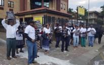 FILE: Public Servants Association members picketing in Johannesburg. Picture: @PSA_Union/Twitter.