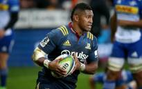 Highlanders and All Blacks winger Waisake Naholo. Picture: AFP