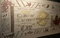 The tapestry depicting key scenes from 'Game of Thrones'. Picture: CNN