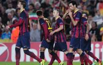 Forbes magazine says the deal between Barcelona and Intel is worth $25 million. Picture: AFP