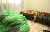Police in Cape Town arrested two suspects for illegal possession of abalone in Panorama. A total of 20,056 wet shucked and 10,940 dried abalone were seized. Picture: SAPS.