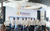 At the ASEAN Labour Ministers' Retreat on 19-20 February 2017 in Davao City, the Philippines. Picture: ASEAN Facebook Page.