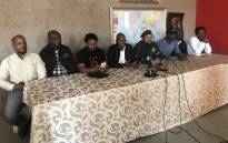 The Radical Economic Transformation Champions held a briefing in Durban on Friday, 29 June 2018, following a call by Zulu King Goodwill Zwelithini to protect Ingonyama Trust. Picture: Ziyanda Ngcobo/EWN.