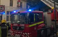 An investigation is underway after a fire broke out in a pub near London's Euston train station on Friday, 22 June 2018. Picture: @LondonFire/Twitter