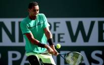 Nick Kyrgios of Australia during the 2017 Indian Wells. Picture: AFP.