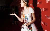 Actress Milly Bobby Brown on the red carpet for Time magazine's 100 most influential people. Picture: TIME