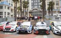 World Rallycross drivers in Cape Town for the finale of the 2017 world championship. Photo: Bertram Malgas/EWN