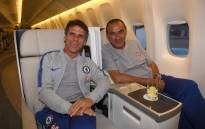 Gianfranco Zola will assist new Chelsea manager Maurizio Sarri. Picture: Twitter/@ChelseaFC