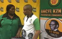 FILE: Leaders from the KZN youth and women's leagues chat before a media briefing. Picture: Ziyanda Ngcobo/EWN