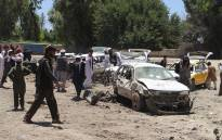 FILE:  A Taliban car bomber killed 14 people in Afghanistan's Khost city on May 27, in the first major attack at the start of the holy month of Ramadan that targeted a CIA-funded militia group. Picture: AFP.