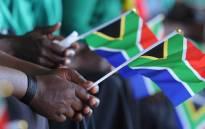 Members of the community at Thulamamahashe Stadium during the National Womens Day celebration in Bushbuckridge, Mpumalanga. 09/08/2013. Picture: Kopano Tlape